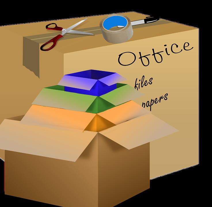 balení krabic