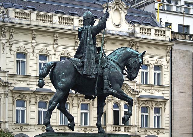 památník rytíře