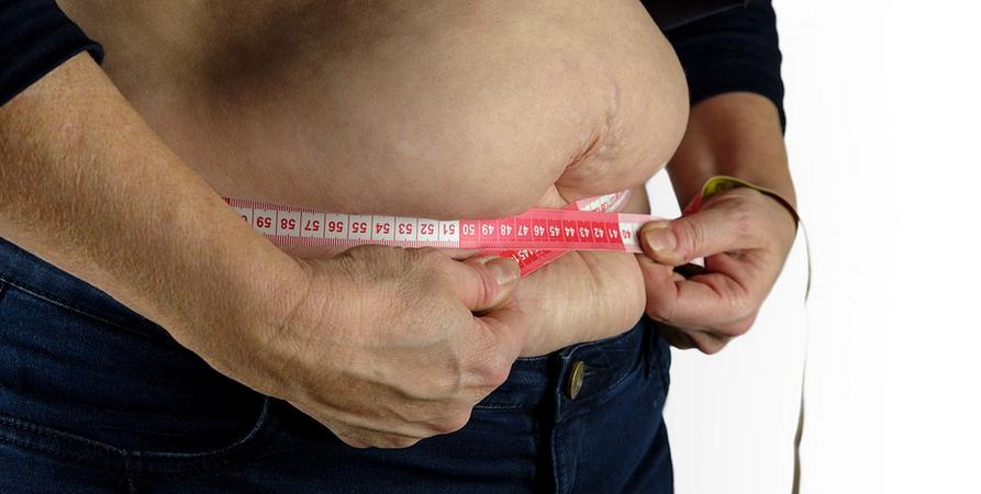 nadváha břicho